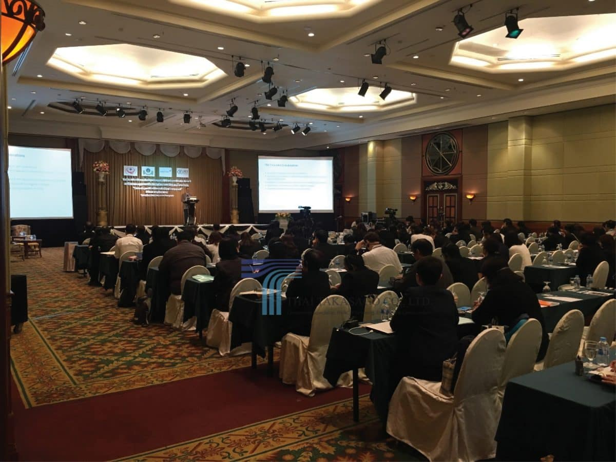 "Thai Takasago participated in ""The 2nd Thailand Healthcare Facility Management Excellence Seminar"""